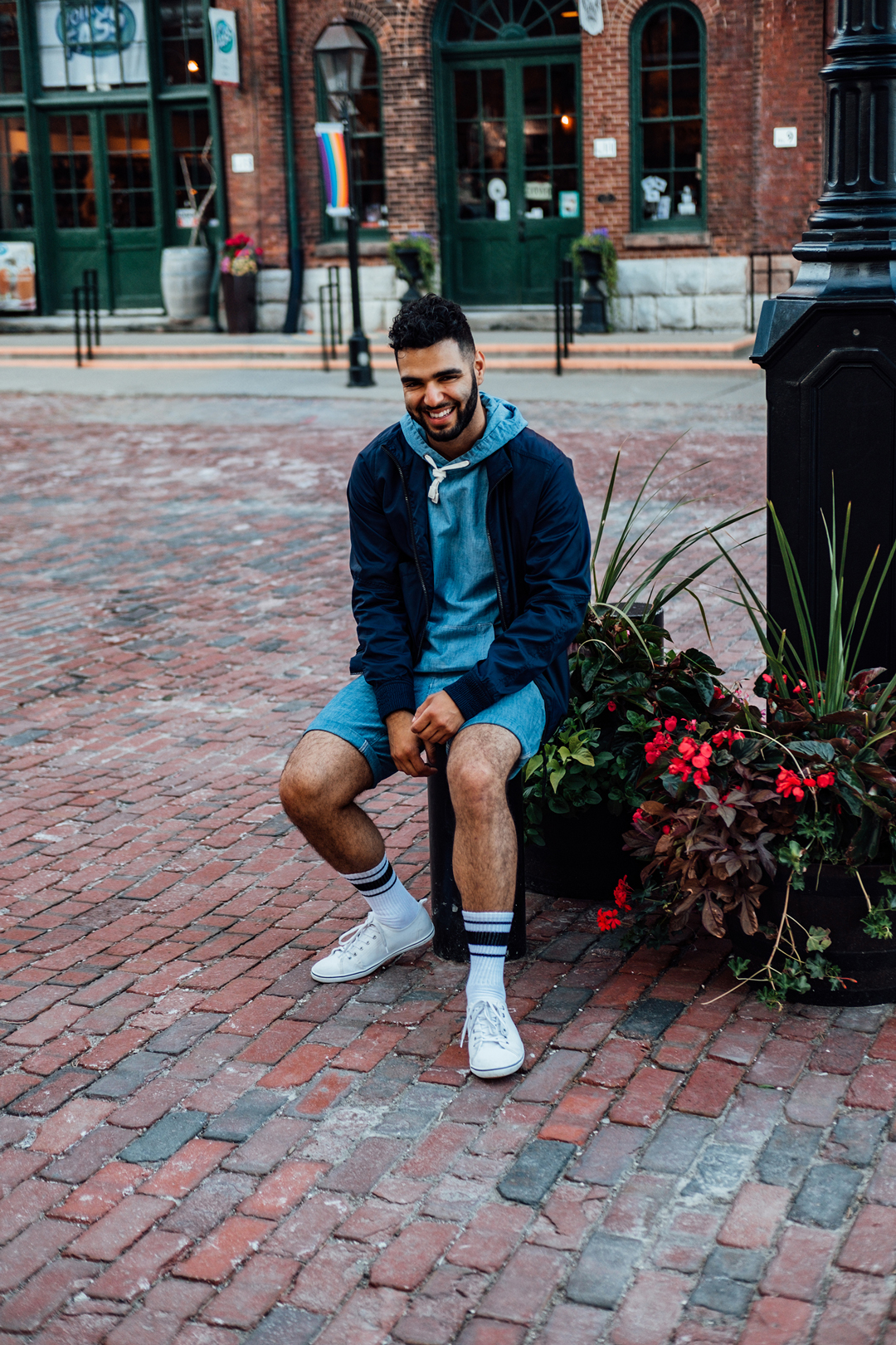 Hugo Filipe Toronto Men's Fashion Blogger G-Star Raw Outfit